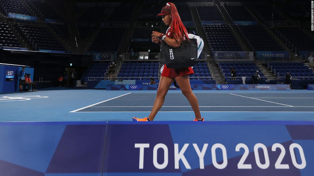 Tennis superstar Naomi Osaka loses in third round