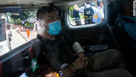 La primera persona procesada en virtud de la Ley de Seguridad Nacional de Hong Kong fue condenada a 9 años de prisión.