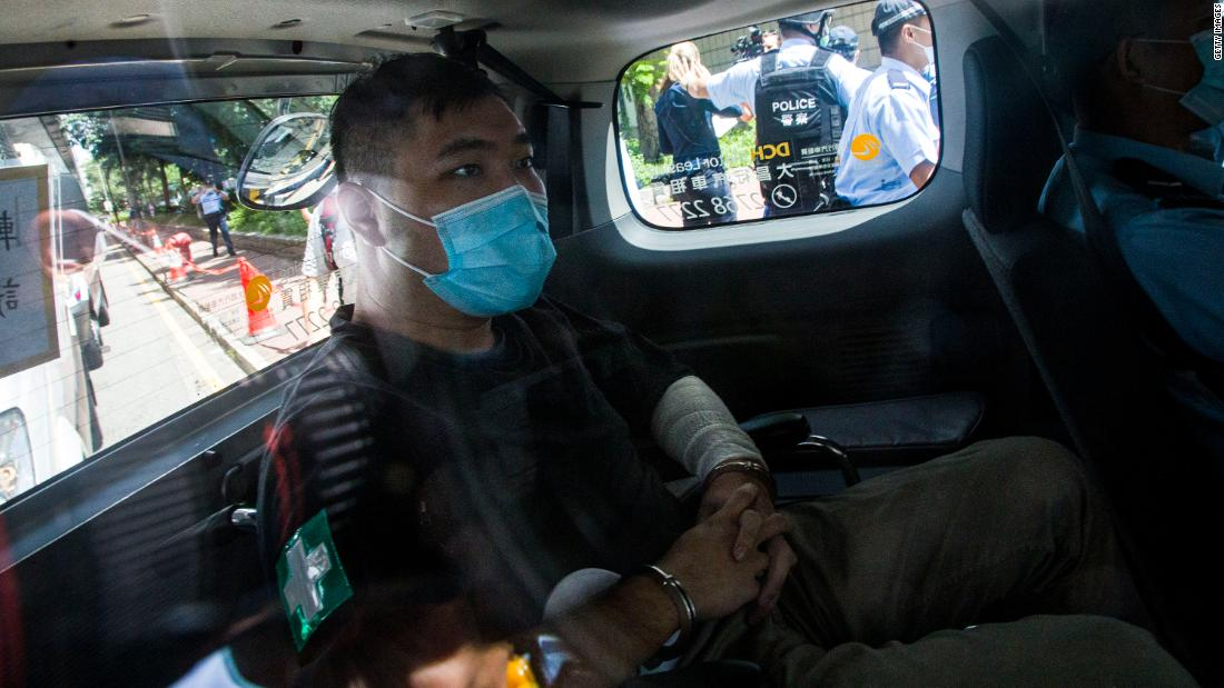 First person charged under Hong Kong's national security law sentenced to 9 years