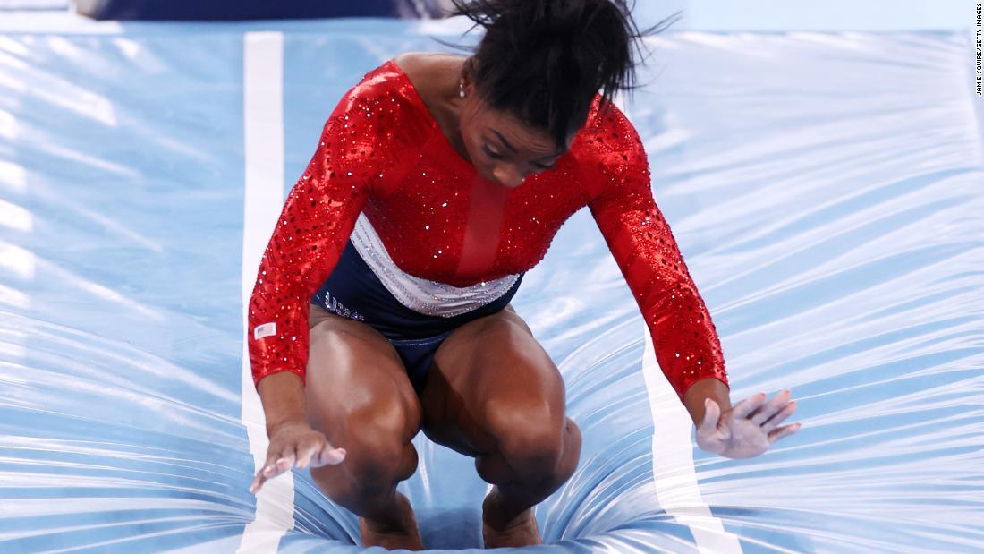 Simone Biles is out of women's gymnastics team finals