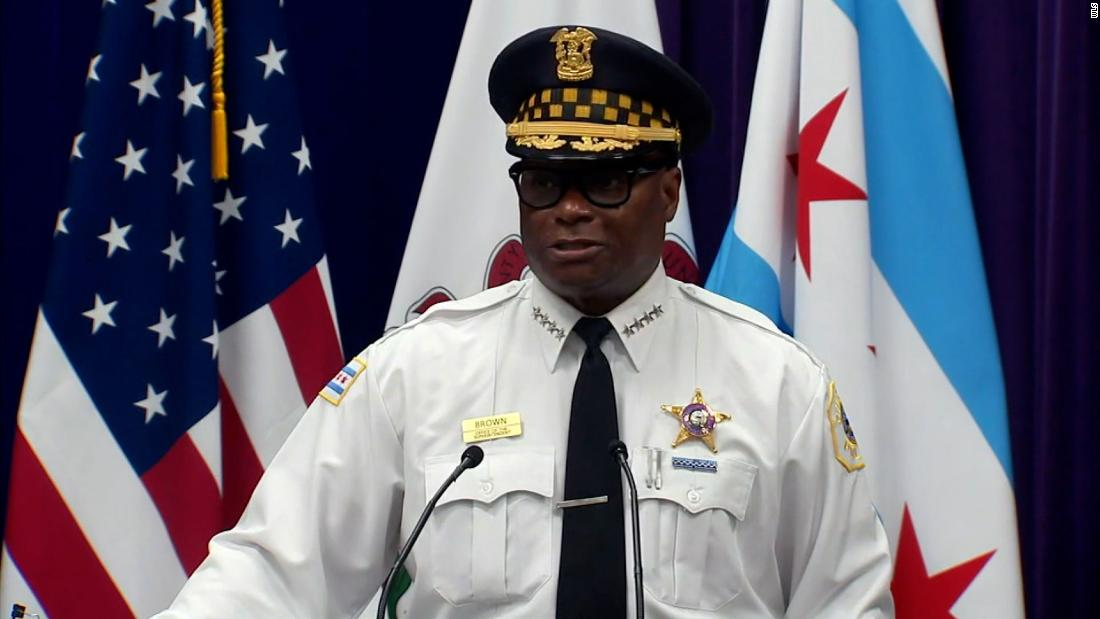 About 70 people were shot in Chicago this weekend. Police official points to release of violent offenders