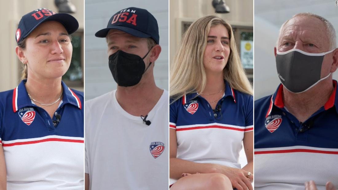 Meet the members of Team USA's first-ever Surfing team