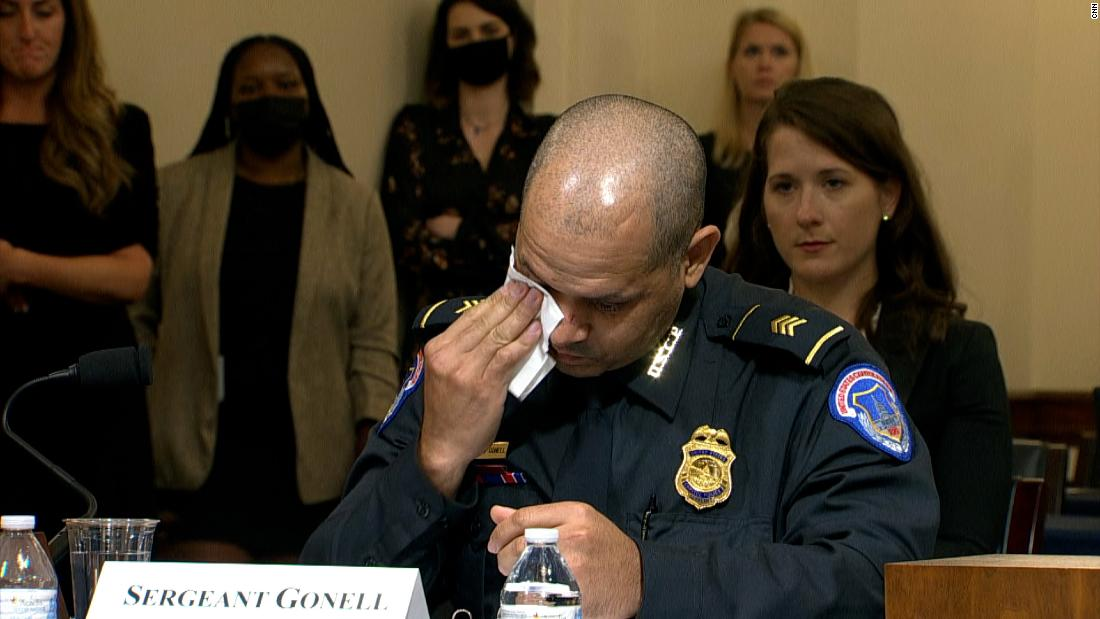 'I had to push my wife away': Officer shares emotional testimony