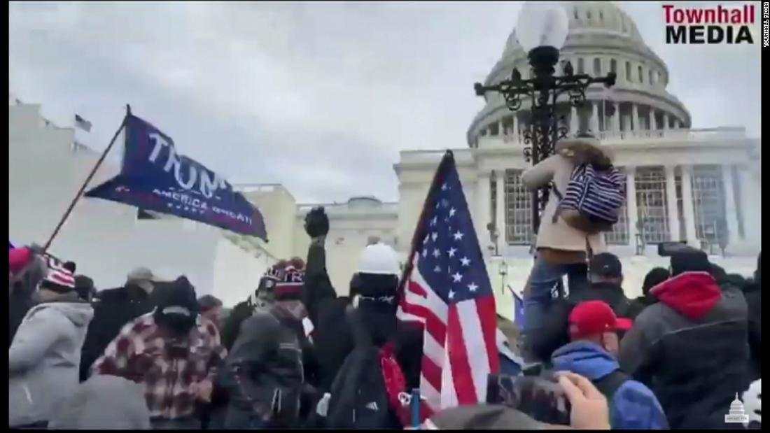 New footage of Capitol riot shown during insurrection hearing