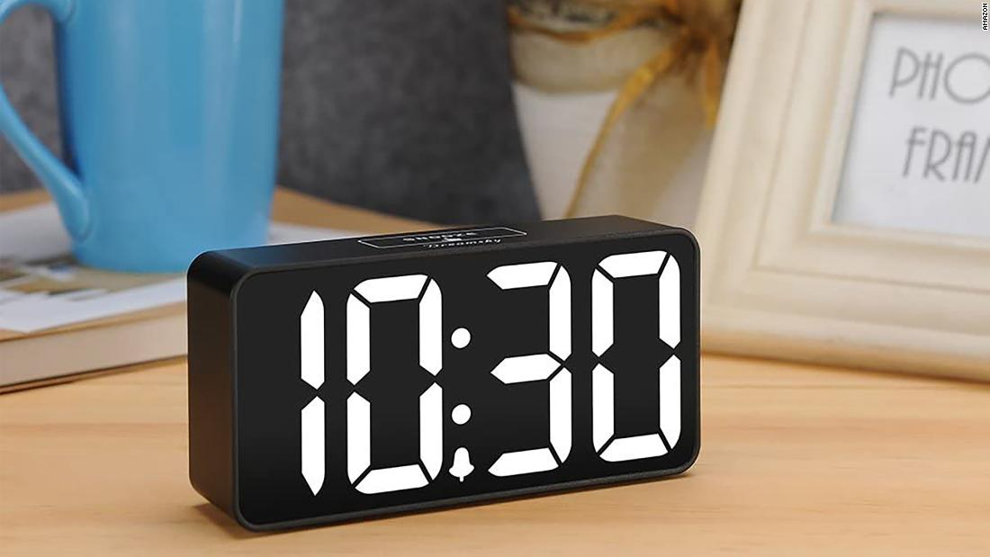 Snag our runner up for best alarm clock for under $20 today