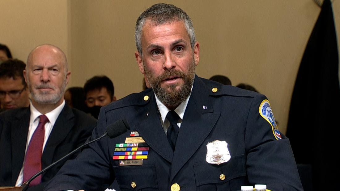 'Disgraceful!' Capitol officer confronts lawmakers downplaying riot