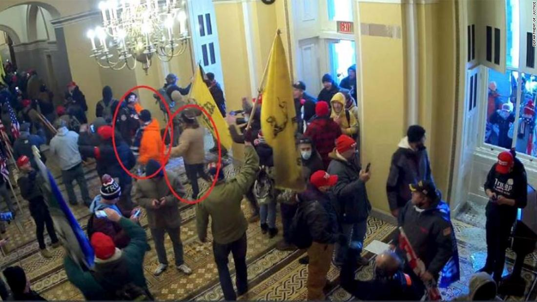 2 Capitol rioters plead guilty as hearing unfolds
