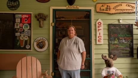Mary Lunderville, owner of the Moose River Campground in St. Johnsbury, Vermont, says she got vaccinated to make her customers feel comfortable.