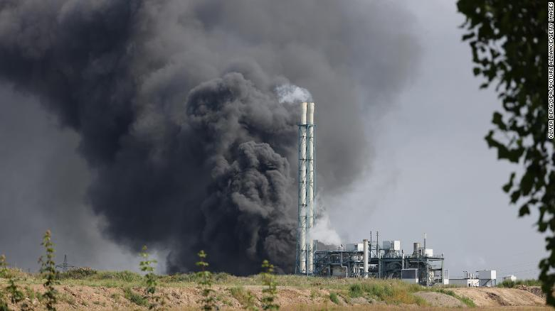 Five people missing after explosion rocks German chemicals site