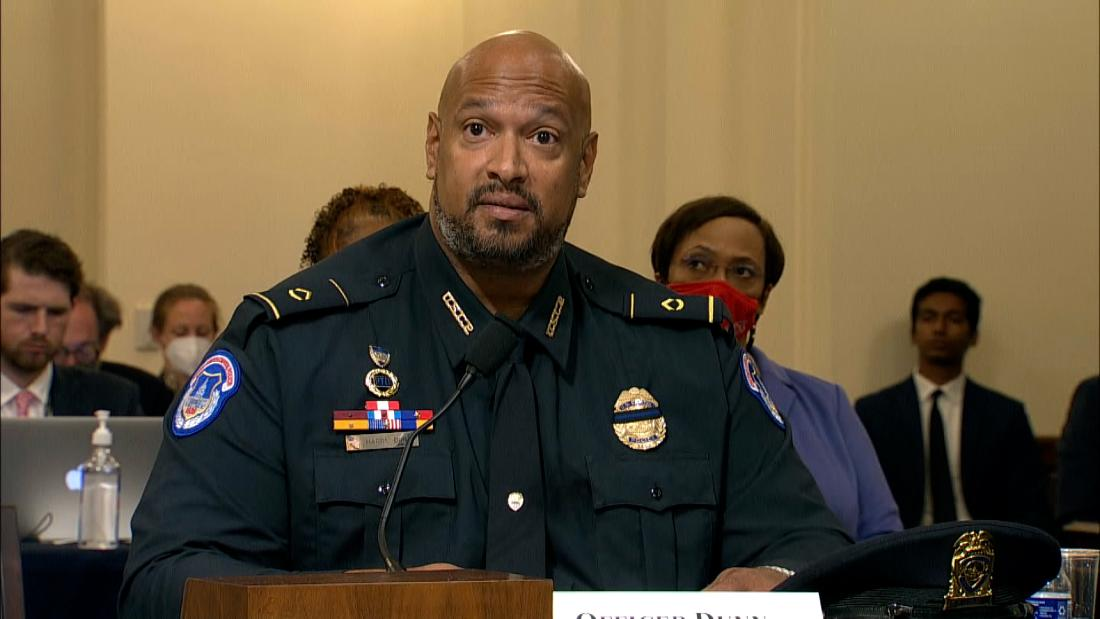 Capitol Police officer recounts rioters calling him the N-word