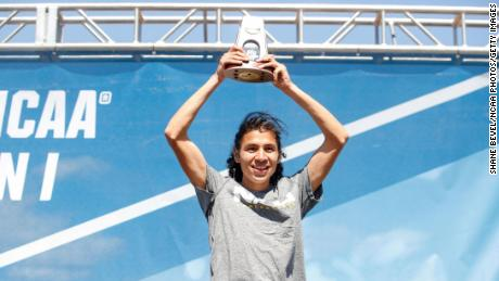 Luis Grijalva discovered his passion for running as a high school student in Fairfield, California.