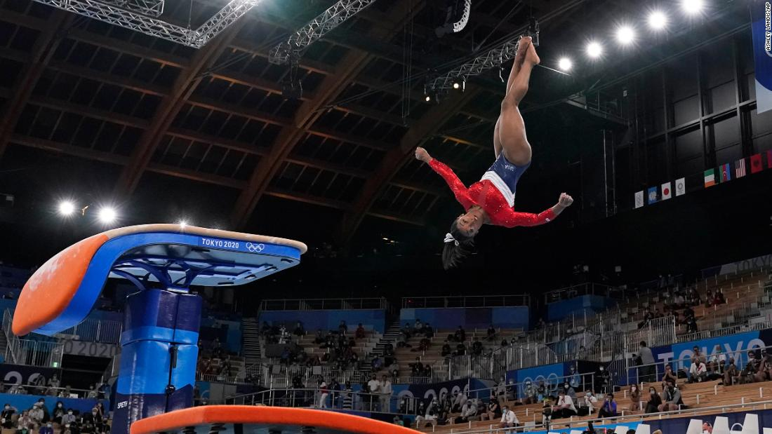 The US gymnast is still the greatest of all time. But that type of reverence often obscures the mental toll of competing at the highest level