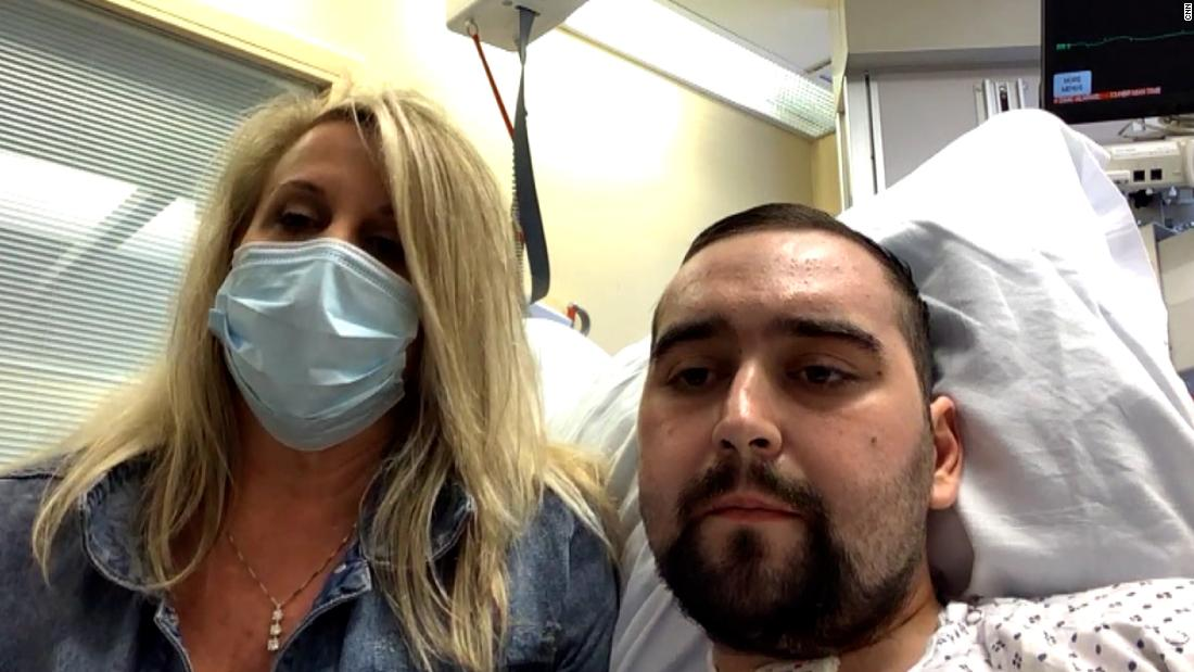 24-year-old gets double-lung transplant because of virus