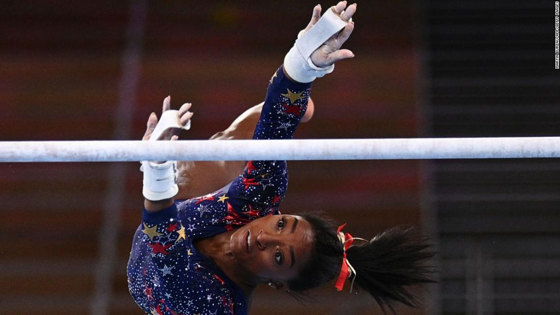 The real reason Biles returned to the Olympics