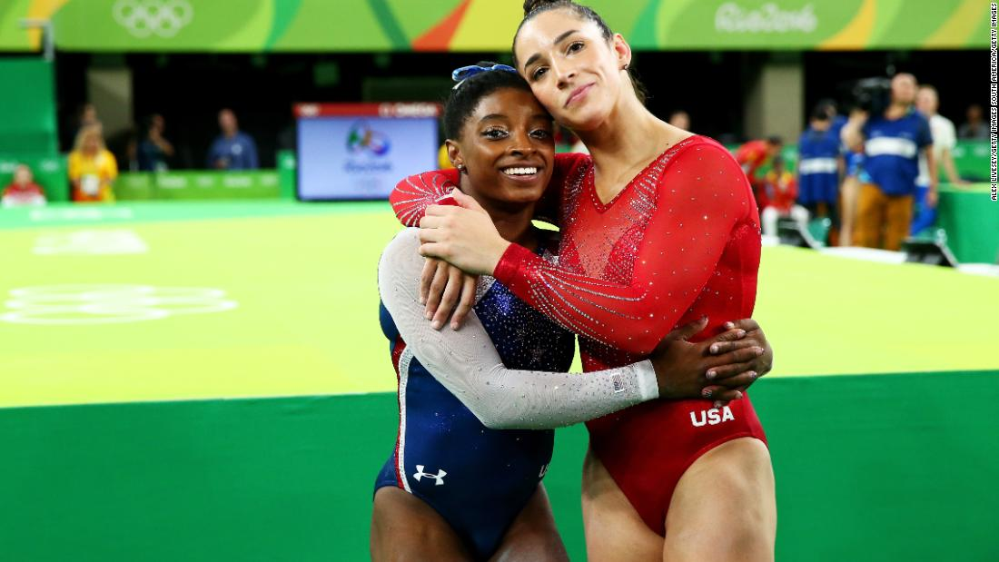 Aly Raisman calls USA Gymnastics an 'absolute disaster' after Simone Biles withdraws