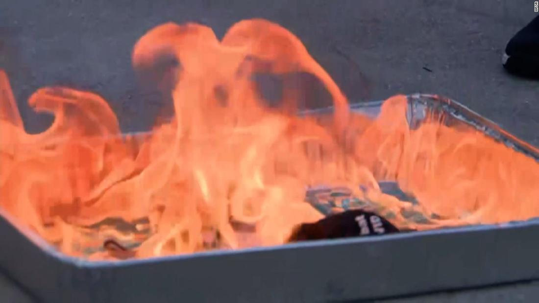 America's fiery mask wars