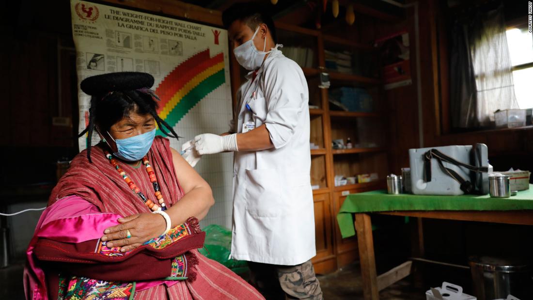 Bhutan vaccinates 90% of its population
