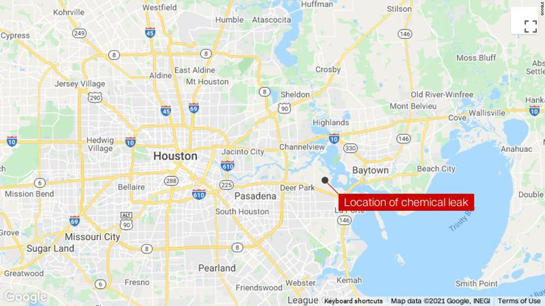 At least two dead in chemical leak in Texas