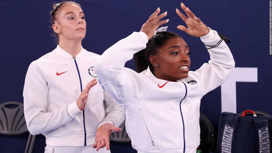 'We're people at the end of the day,' says Biles as mental health moves to top of Olympics agenda