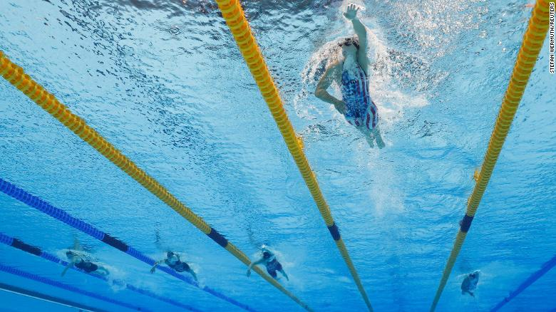 Katie Ledecky wins 1500m freestyle for her 6th career Olympic gold medal and first at Tokyo 2020