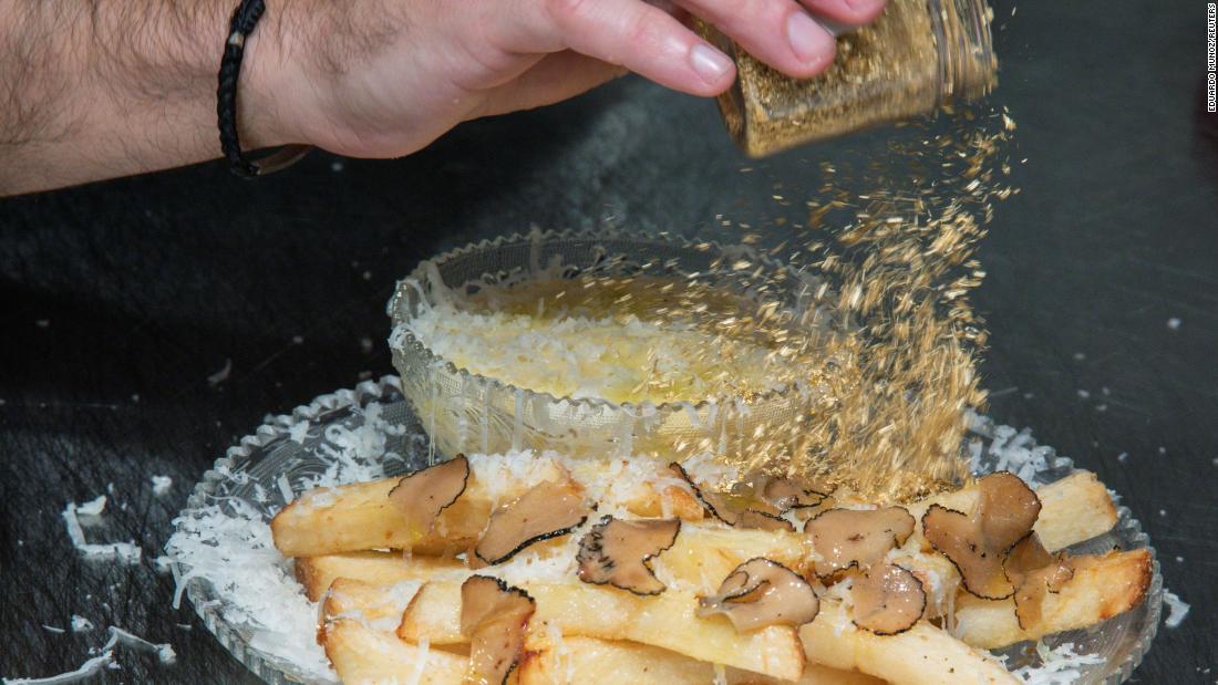 New York City restaurant unveils $200 french fries