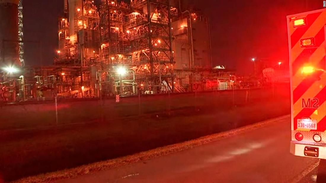 At least two dead in chemical leak at facility near La Porte, Texas