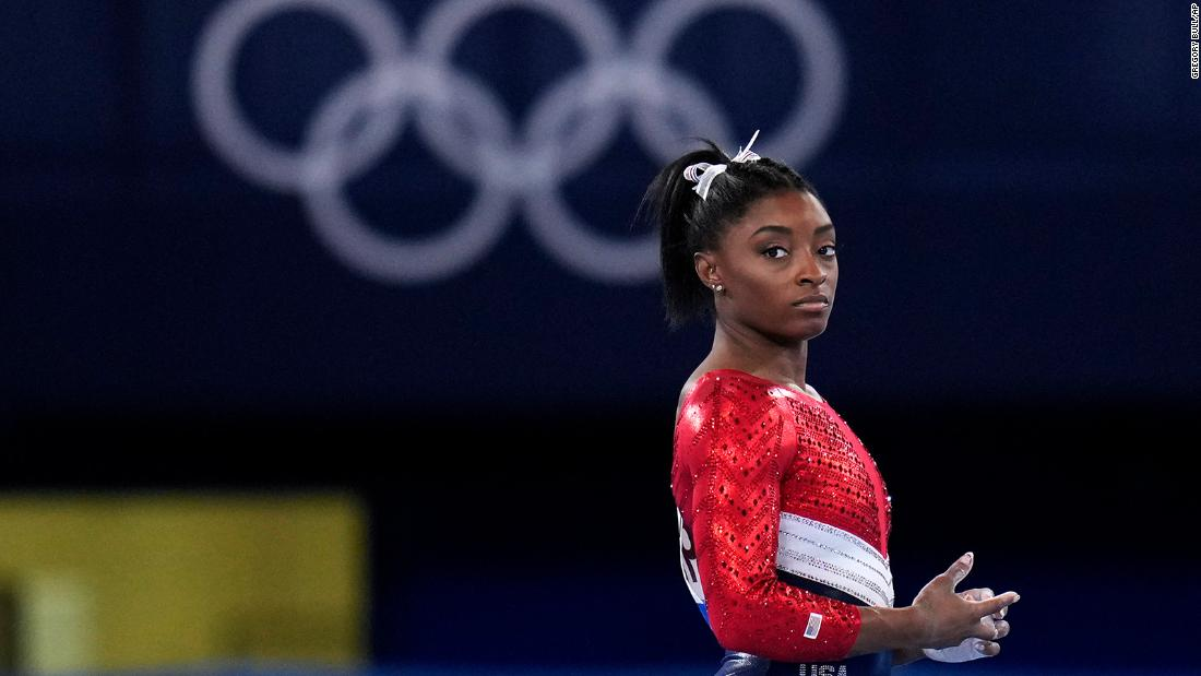 The gymnastics superstar withdrew from the individual all-around competition at the Tokyo Olympics to prioritize her well-being, USA Gymnastics says