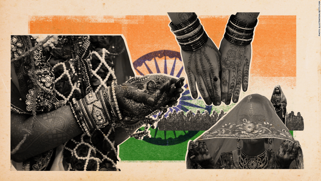 Families are at war over a wedding tradition India banned decades ago