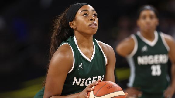 Erica Ogwumike of the Nigeria Womens National Team is one of the many athletes sharing their daily lives and fascinating personal stories during the Olympics.