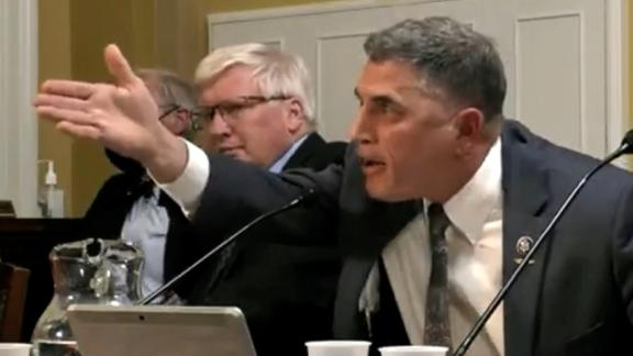 Image for See GOP lawmaker's reaction when he's confronted over insurrection remarks