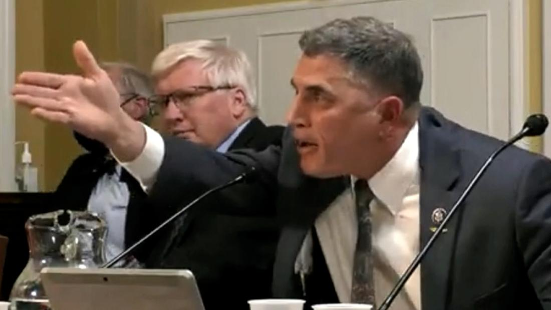 See GOP lawmaker's reaction when he's confronted over insurrection remarks
