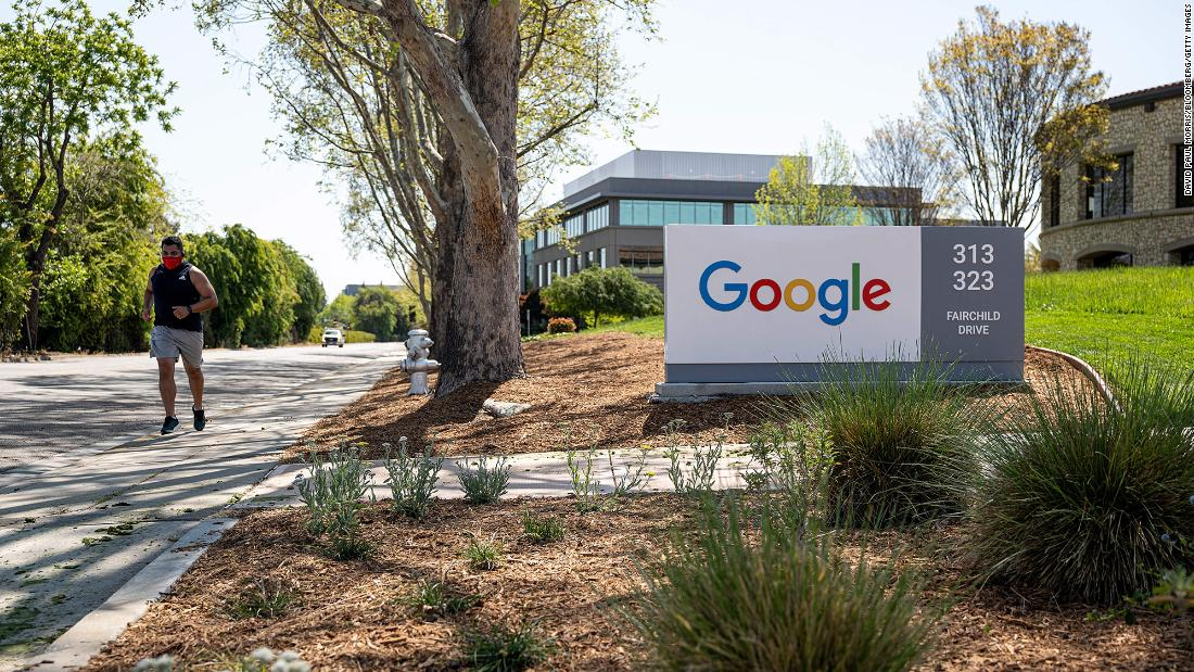 Google will require vaccinations for employees returning to the office