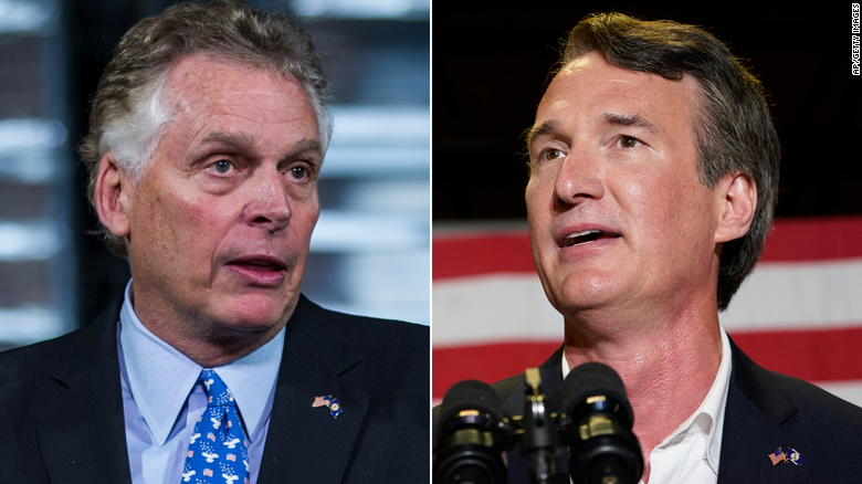 McAuliffe attacks Youngkin by tying him to Trump's election lies