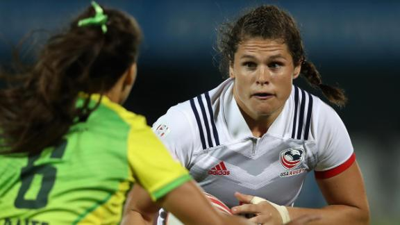US Olympic rugby player Ilona Maher has gained international fans for her entertaining social media content.