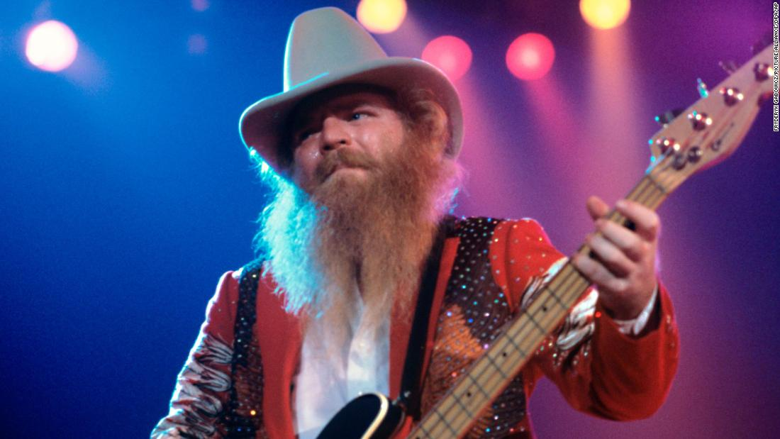 ZZ Top bassist Dusty Hill dead at 72