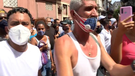 Image for Families of detained protesters in Cuba speak out