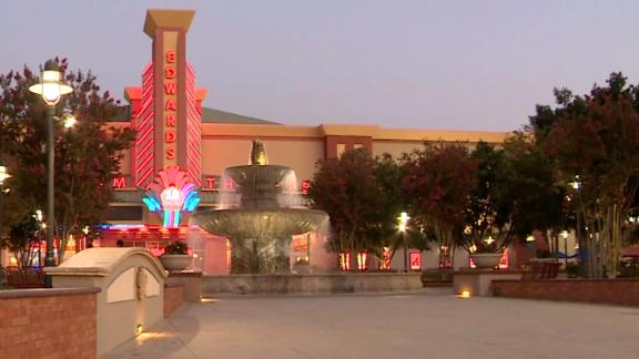 The Edwards theater in Corona, California where the shooting took place.