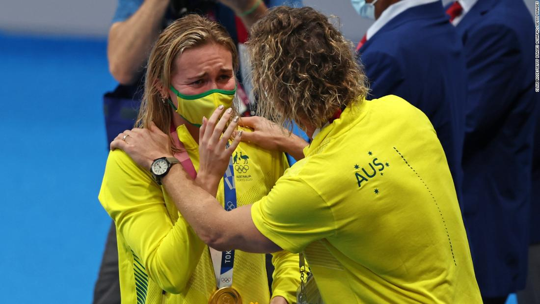 This Australian won two gold medals in Tokyo. Why she won't look at social media