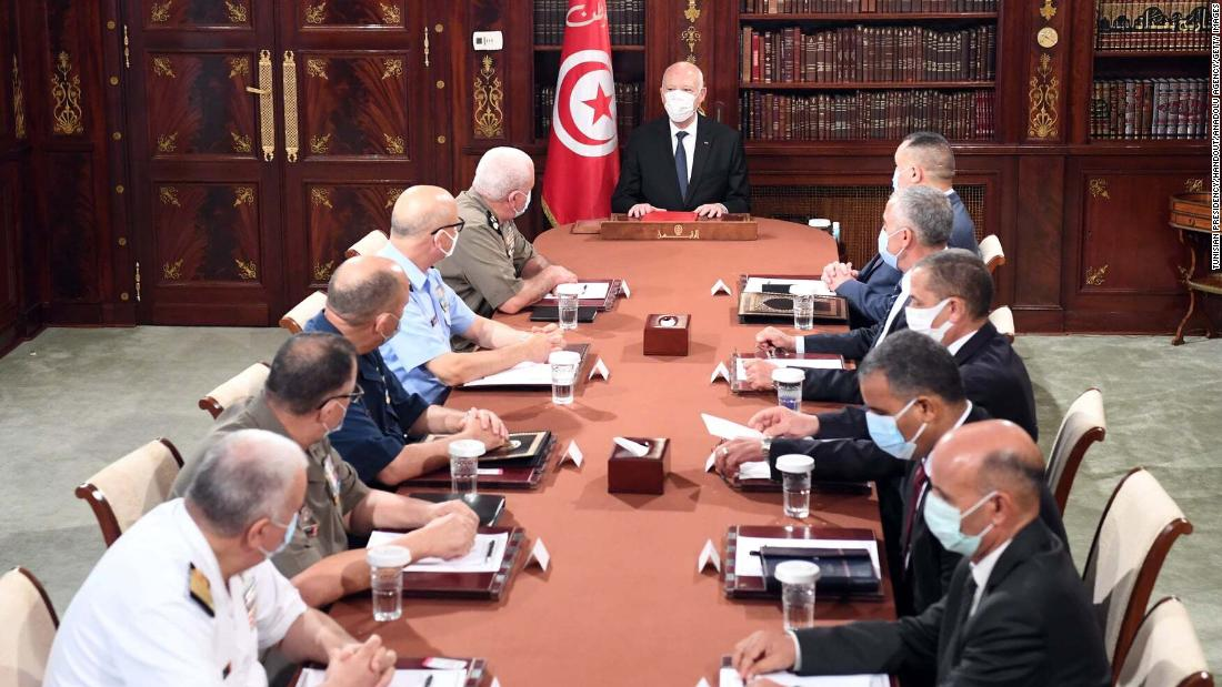 Tunisia's Saied moves on economy and Covid-19 after dismissing government – CNN
