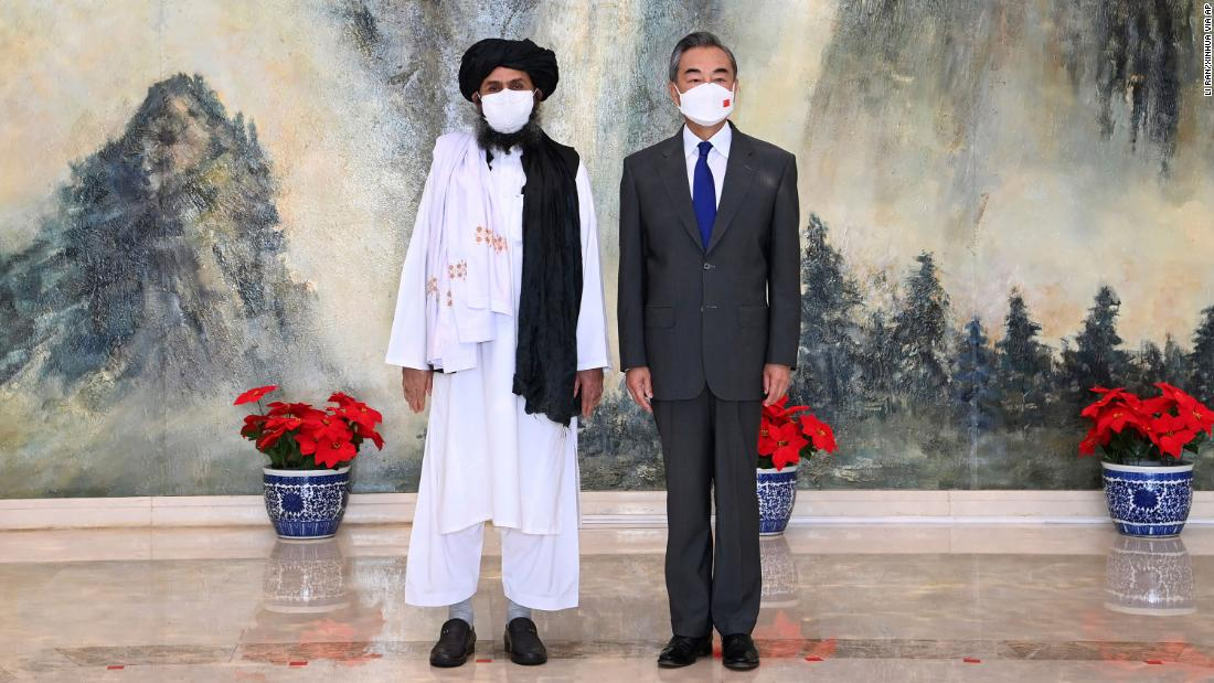 Chinese officials meet with Taliban as US exits Afghanistan