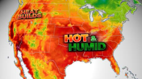 Heat wave, coupled with humidity, torments 70 million across US