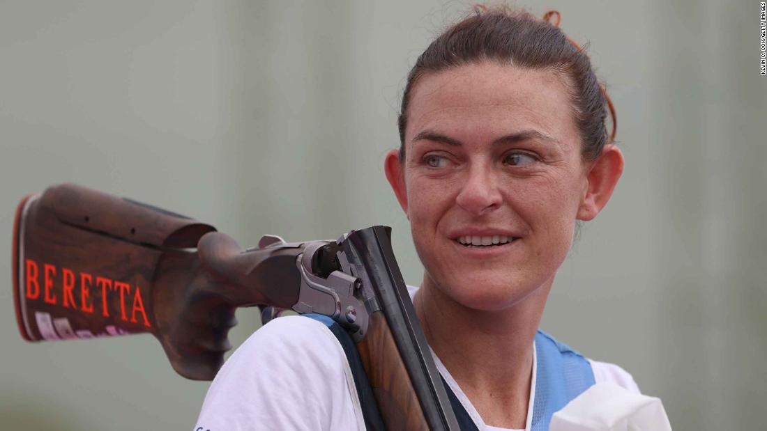 San Marino is smallest country in history to win a medal at the Olympics thanks to shooter Alessandra Perilli