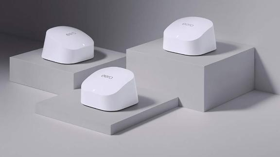 Eero 6 Mesh Wi-Fi System and 2 Extenders