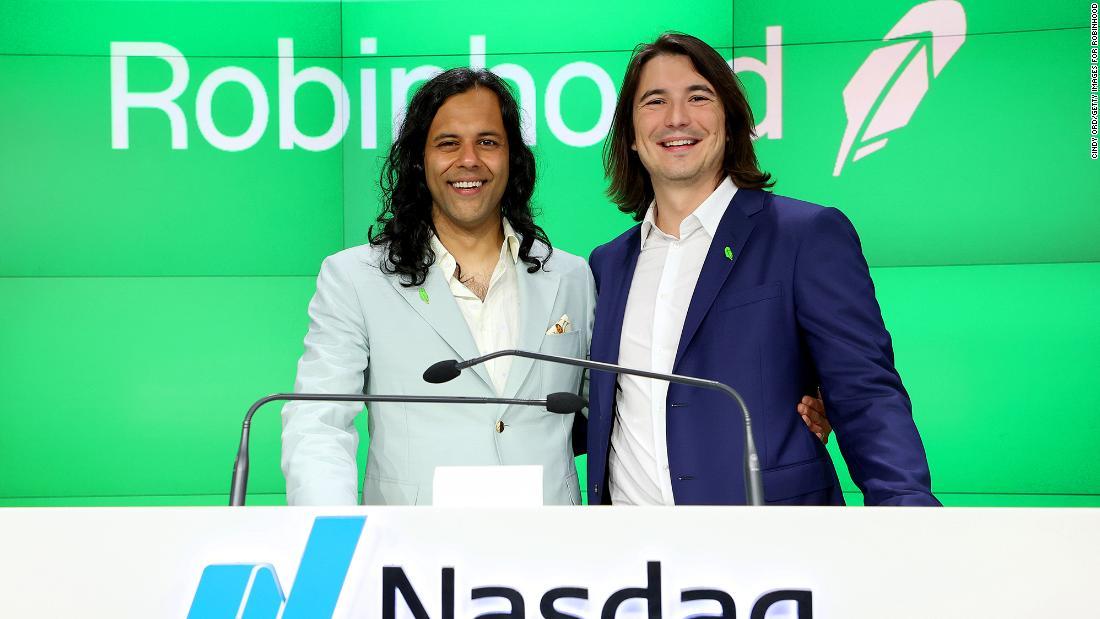 Robinhood stumbles in Wall Street debut