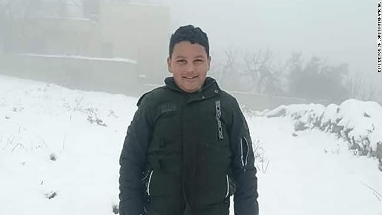 12-year old Palestinian boy killed by Israeli gunfire in West Bank, Palestinian health ministry says