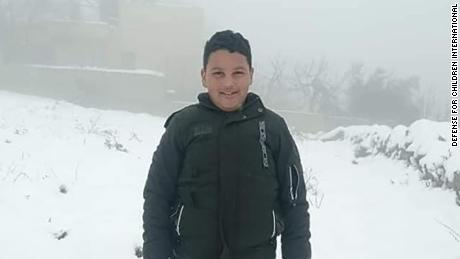 A file photo of Mohammed Allamy, pictured during snowfall last winter.