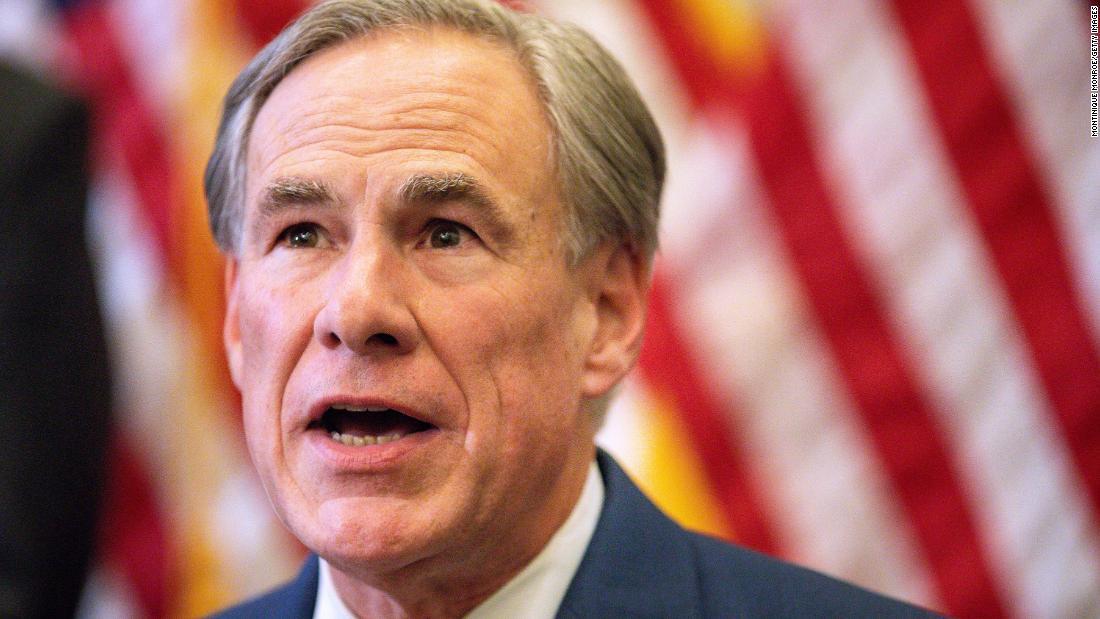 Texas Gov. Greg Abbott tests positive for Covid-19