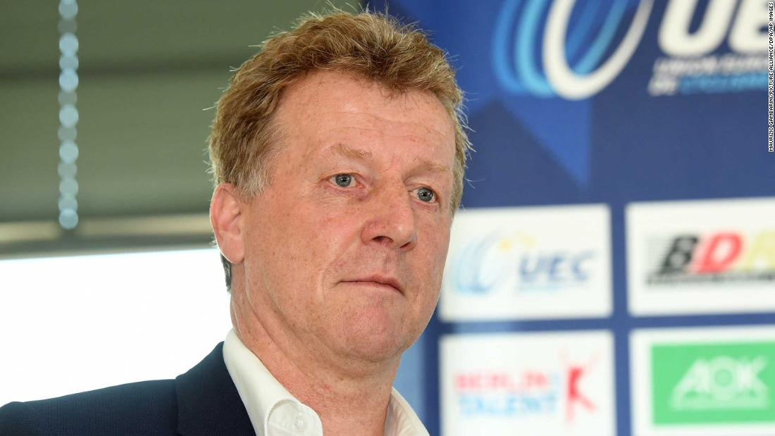 German cycling coach dismissed from Olympics over racist remark