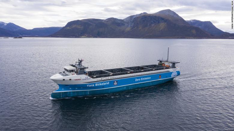 Yara Birkeland dự kiến sẽ thực hiện chuyến hành trình đầu tiên trước cuối năm nay.