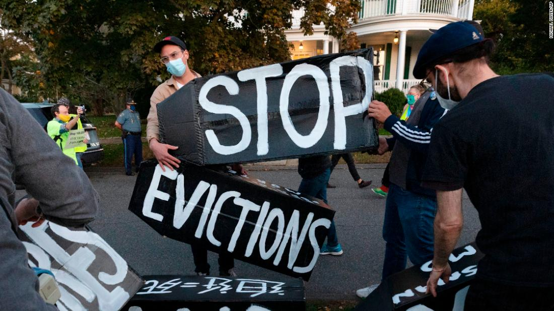 The eviction ban is ending and millions are at risk of losing their homes